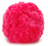 "Giant 8"" Neon Pink Pom"