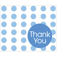 True Blue Dots Thank You Notes (8)