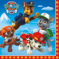 PAW Patrol Lunch Napkins (16)