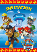 PAW Patrol Invitations (8)