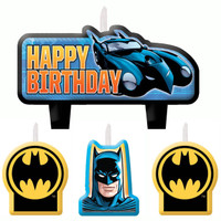 Batman Birthday Candle Set