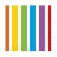 Rainbow Birthday Party Beverage Napkins (16)