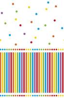 Rainbow Birthday Party Plastic Tablecover