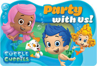 Bubble Guppies Invitations (8)