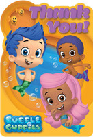 Bubble Guppies Thank-You Notes (8)
