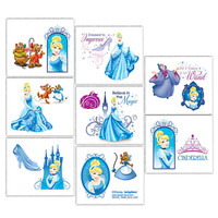 Disney Cinderella Sparkle Tattoos