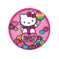 Hello Kitty Rainbow Dessert Plates (8)