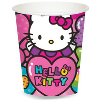 Hello Kitty Rainbow 9 oz. Paper Cups (8)