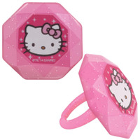 Hello Kitty Princess Rings (12)