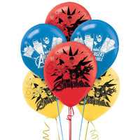 Avengers Assemble Printed Latex Balloons (6)