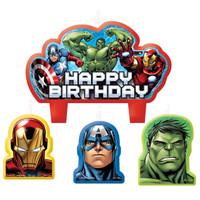 Avengers Assemble Birthday Candle Set