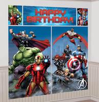 Avengers Assemble Wall Decorating Kit