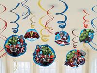 Avengers Assemble Swirl Decorations (12)