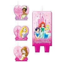 Disney Very Important Princess Dream Party - Birthday Candle Set