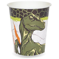 Dinosaurs 9 oz. Cups