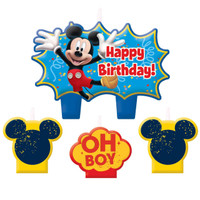 Disney Mickey Fun & Friends Birthday Candle Set