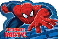 Spider Hero Dream Party Invitations