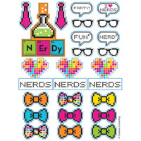 Get Nerdy Sticker Sheets (4)