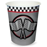 Racing 9 oz. Paper Cups