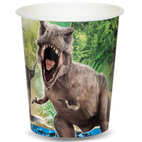 Jurassic World 9 oz. Paper Cups (8)