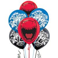 Power Rangers Dino Charge Printed Latex Balloons (6)
