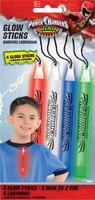 Power Rangers Dino Charge Glow Stick Lanyards (4)