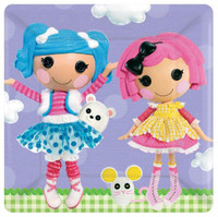 Lalaloopsy Square Dinner Plates (8)