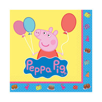 Peppa Pig Beverage Napkins