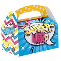 Superhero Girl Empty Favor Boxes