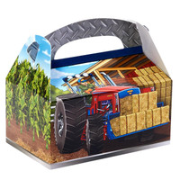 Farm Tractor Empty Favor Boxes