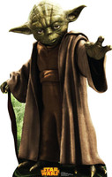 Star Wars Yoda Standup - 3' Tall
