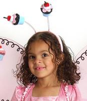 Cupcake Fairy Child Headband