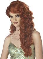 Mermaid (Auburn) Adult Wig