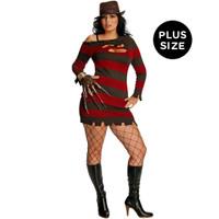 A Nightmare On Elm Street +AC0- Miss Krueger Adult Plus Costume