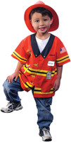 My First Career Gear +AC0- Firefighter Toddler Costume