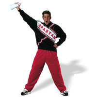 SNL Spartan Cheerleader Male Adult Costume