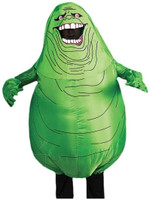 Ghostbusters +AC0- Inflatable Slimer Adult Costume