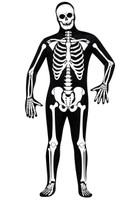 Skeleton Zentai Adult Costume