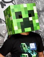 Minecraft Creeper Head Mask Adult