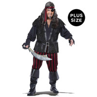 Ruthless Rogue Adult Plus Costume