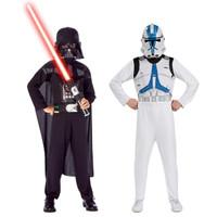 Star Wars +AC0- Darth Vader +ACY- Clone Trooper Dress Up Set