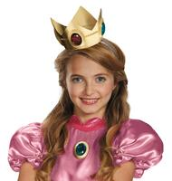 Super Mario Brothers Princess Peach Crown & Amulet