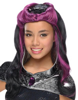Ever After High -  Raven Queen Wig with Headpiece