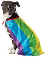 Rainbow Flag Cape Pet Costume