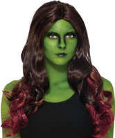 Guardians of the Galaxy - Deluxe Adult Gamora Wig