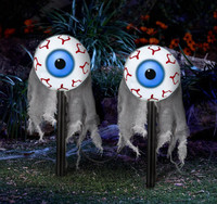 Lighted Moving Eyes Pathway Markers (2)