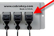Cobra Cabinet Lock Key Unit Replacement