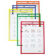 Reusable Dry Erase Pocket (25 Box)