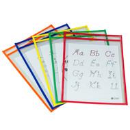 Reusable Dry Erase Pocket (5 Pack)