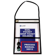 Two Pocket Shop Ticket Holders (15 Pieces)